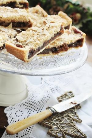 a portion: cake portion slice