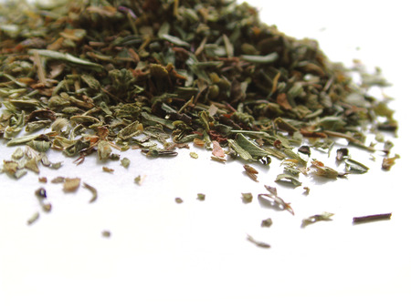 mediteranean: fresh dried sage herb Stock Photo