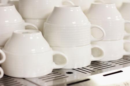 preperation: kitchen plates and crockery