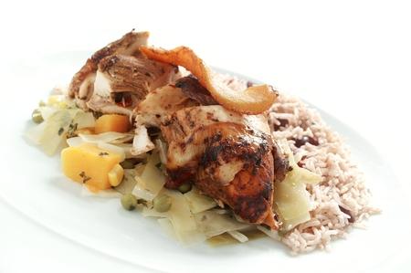 afro caribbean: Afro Caribbean food