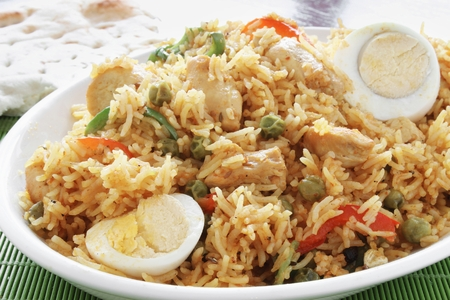 biryani: Indian biryani rice curry