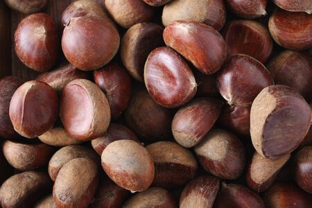 chestnuts: fresh chestnuts