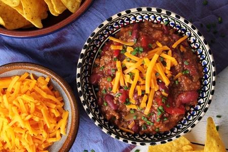 tex mex: chili con carne Stock Photo