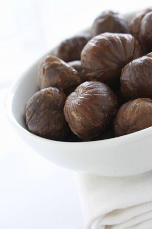 prepared: prepared chestnuts