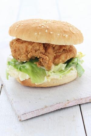 berger: burger meal Stock Photo