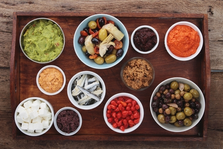 antipasto: antipasto tappas selection