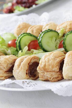 sweet and savoury: savory pastries