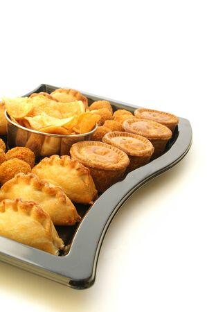 fresh baked: fresh baked pie pastry Stock Photo