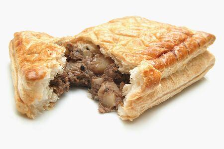 pasty: meat pie pasty Stock Photo