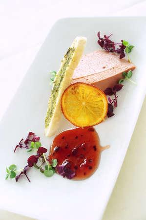 appetizer: pate appetizer