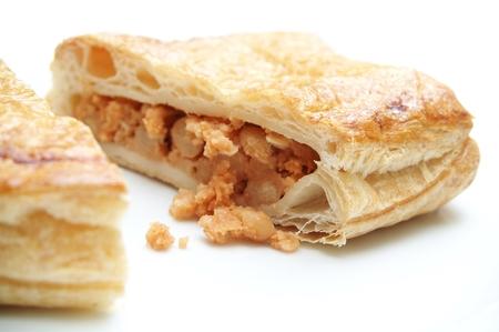 meat pie pasty Stock Photo