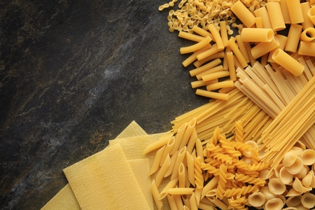 pasta: pasta selection