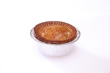 savory: Pork Pies and savory pastries Stock Photo