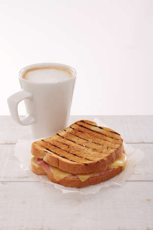 toasted sandwich: fresh toasted sandwich Stock Photo