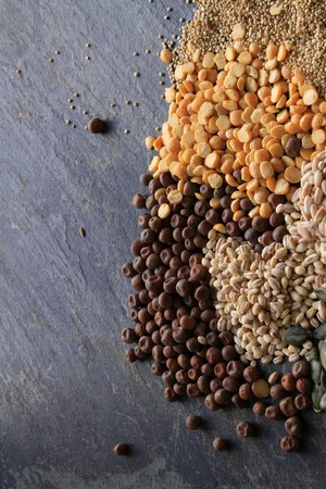 ingrediant: grain and pulses