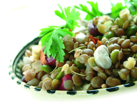 pulses: mixed pulses plated meal