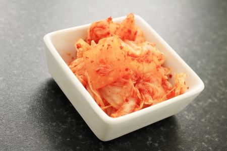 fermented: kimchi fermented cabbage Stock Photo