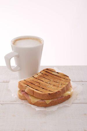 toasted: fresh toasted sandwich Stock Photo