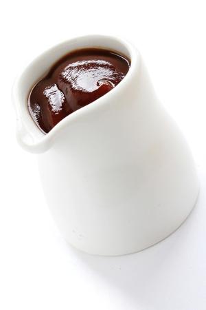 wholegrain mustard: sauce in dish