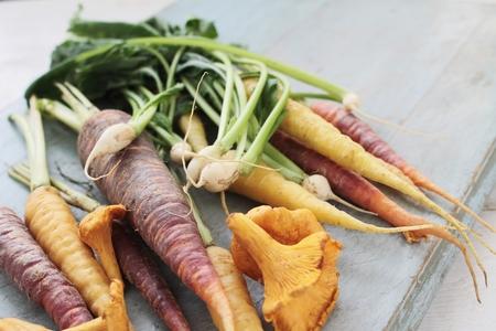 seasonal: seasonal autumn vegetables