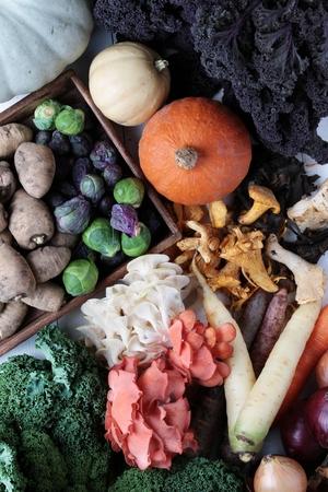 seasonal: mixed seasonal vegetables