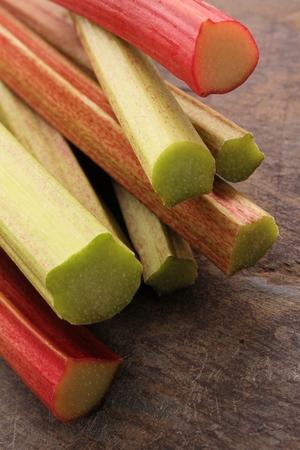 forced: fresh English forced rhubarb