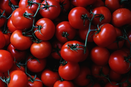 fruit and veg: fresh tomatoes