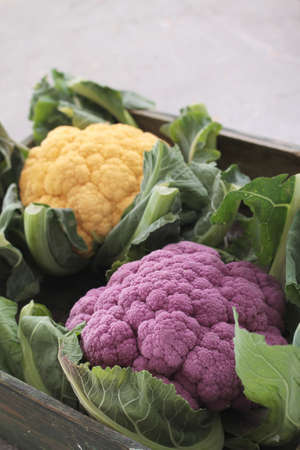 ingrediant: heritage cauliflowers