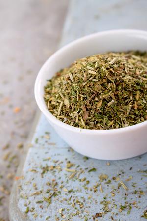 mixed dried herbs Stok Fotoğraf