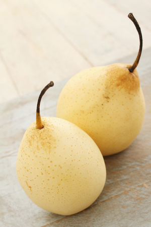 chinese pears Stock Photo