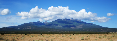 mount humphreys: Mounts Agassiz and Humphreys in the San Francisco Peaks, northern Arizona
