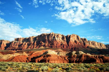 A View of the Vermilion Cliffs, Utah-Arizona Border