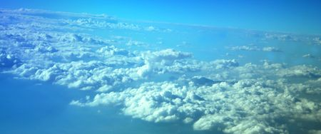 A View of the Earth Above the Clouds