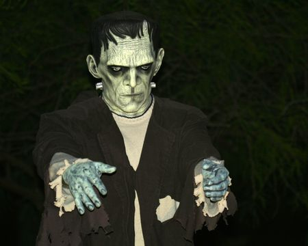 A Frankensteins Monster Lurks in the Dead of Night photo