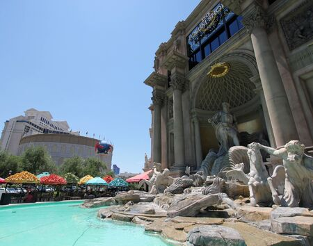 A View of the Caesars Palace Forum Shops, Las Vegas, Nevada, taken June 9, 2011 Stock Photo - 9891503