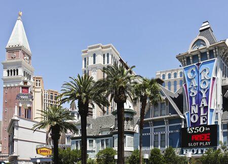 royale: Una vista de Casino Royale en Las Vegas, Nevada, tomado 09 de junio de 2011