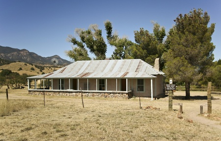 Sierra Vista, Arizona - October 12: Brown Canyon Ranch on October 12, 2011, outside Sierra Vista, Arizona. This historic ranch site was built in 1905-07 by the Haverty family. Currently, the Coronado National Forest and volunteers under the leadership of