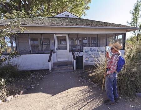 Sierra Vista, Arizona - October 30: The San Pedro House on October 30, 2011, east of Sierra Vista, Arizona. The San Pedro Riparian National Conservation Area contains about 40 miles of the upper San Pedro River, protecting and enhancing the rare desert ri