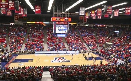 Tucson, Arizona - December 22: McKale Center on December 22, 2011, in Tucson, Arizona. The University of Arizona Wildcats' McKale Memorial Center Arena during a game against Bryant. Stock Photo - 11691955