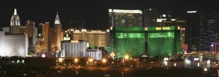 tropicana: Las Vegas, Nevada - January 1: The MGM Grand Casino on January 1, 2013, in Las Vegas, Nevada. The MGM Grand Casino at night as seen from McCarran International Airport. Editorial