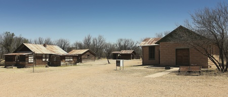 river county: Cochise County, Arizona - April 21: The Buildings on April 21, 2013, in Fairbank Ghost Town, Arizona. These old buildings sit in Fairbank, a ghost town in Cochise County, Arizona, near the San Pedro River, and are very popular with tourists.