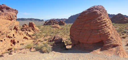 las vistas: A Valley of Fire State Park View, north of Las Vegas, Nevada