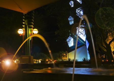 SCOTTSDALE, ARIZONA   JUNE 11: The Frank Lloyd Wright Spire On June 11,