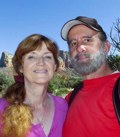 sedona: A Portrait of a Married Couple Hiking in Sedona, Arizona