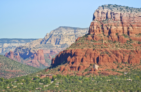 institute is holy: SEDONA, ARIZONA, OCTOBER 15. The Chapel of the Holy Cross on October 15, 2015, in Sedona, Arizona. The Chapel of the Holy Cross in the red rocks of Sedona, Arizona, earned the American Institute of Architects Award of Honor in 1957, was named one of the S