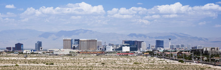 tropicana: LAS VEGAS, NEVADA, MAY 24. Las Vegas Boulevard on May 24, 2016, in Las Vegas, Nevada. A view of the south end of Las Vegas Boulevard looking north in Las Vegas, Nevada. Editorial