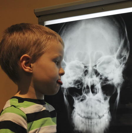 reynolds: LAS VEGAS, NEVADA, DECEMBER 29. The Discovery Childrens Museum on December 29, 2016, in Las Vegas, Nevada. A Boy Disapproves of an  X-ray  at the Discovery Childrens Museum in Las Vegas, Nevada.