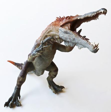 A Theropod Dinosaur Named Baryonyx, Meaning Heavy Claw Stock Photo