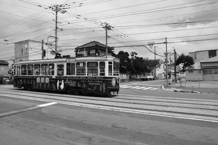 函館市のトロリーバス