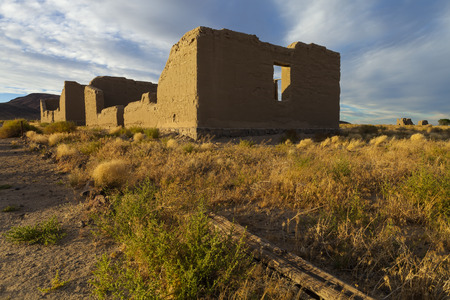 reno: Fort Churchill, Nevada, USA, are the remains of a United States Army fort and a waystation on the Pony Express and Central Overland Routes dating back to 1860. Editorial